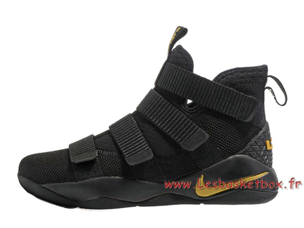 Pour Chaussures 2017 Noiresor Basket Nike Soldier Lebron 11 VSUzMpq