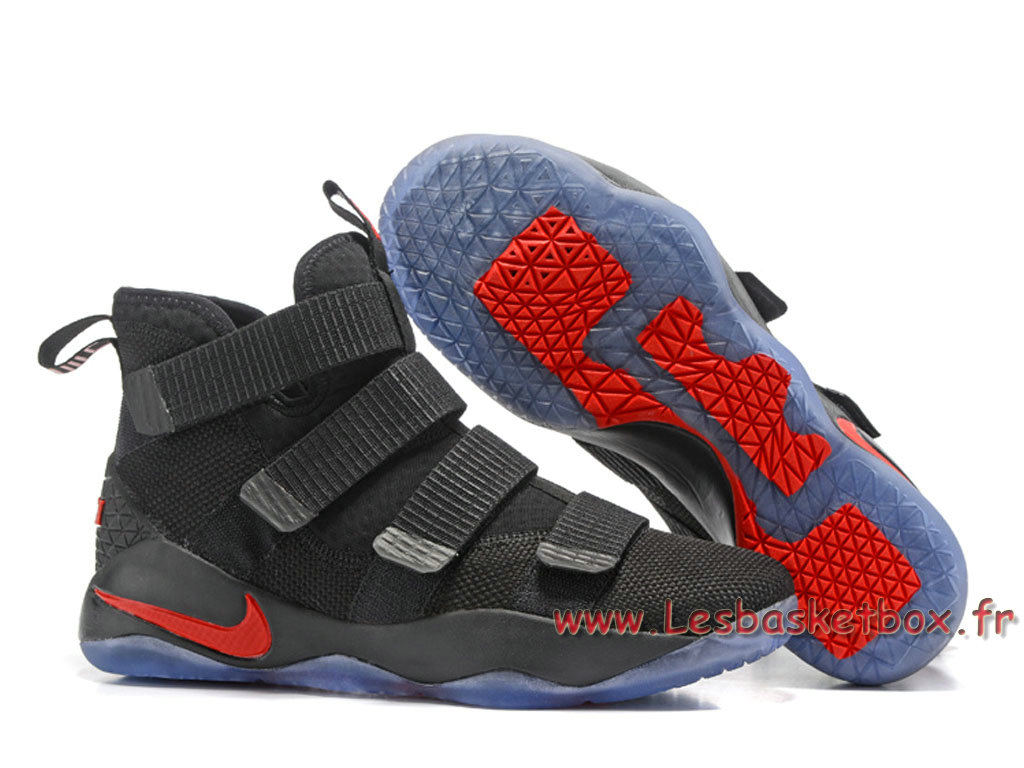 détaillant en ligne ccfb0 1adee Nike LeBron Soldier 11 Black/Red Shoes nike basket 2017 For Men´s Black -  1706120967 - Official Nike Air Max(Urh) For Mens And Womens Sale In Low ...