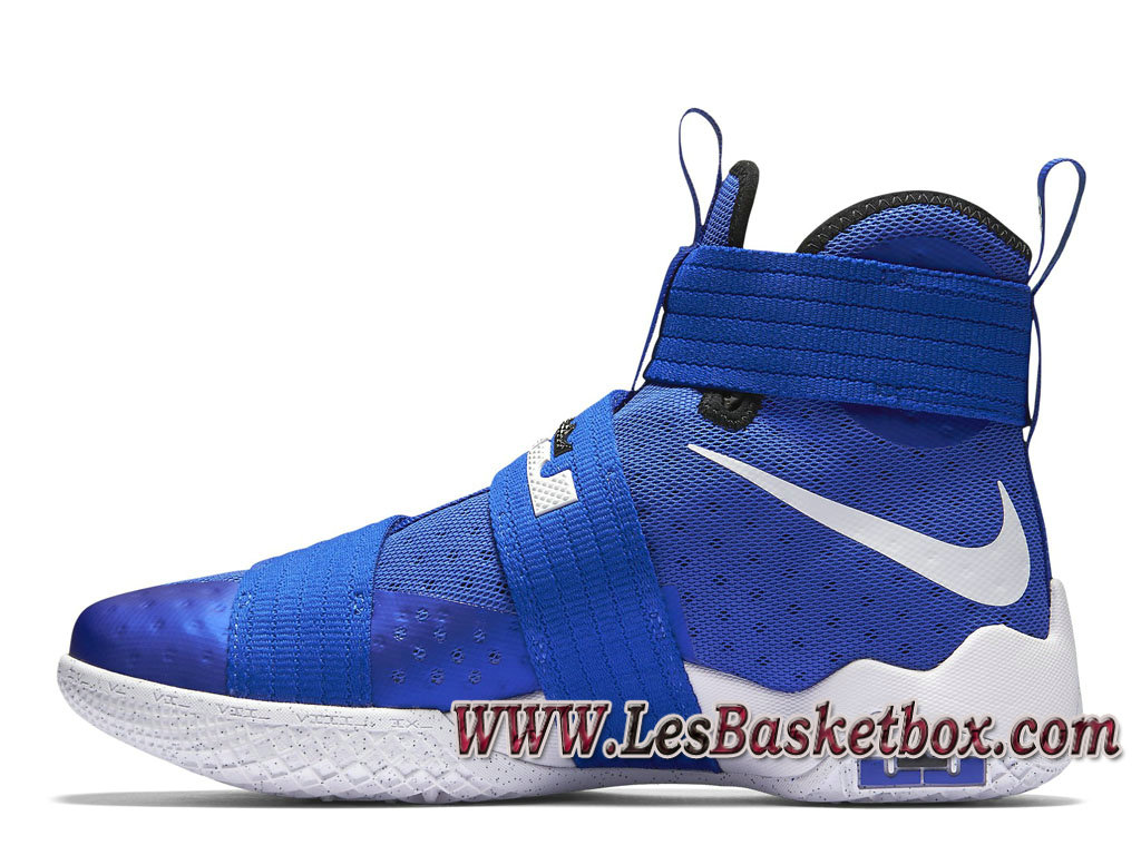 410 Nike Soldier Chaussures Lebron 10 Azul Blanco X 844374 hCtxsQrd