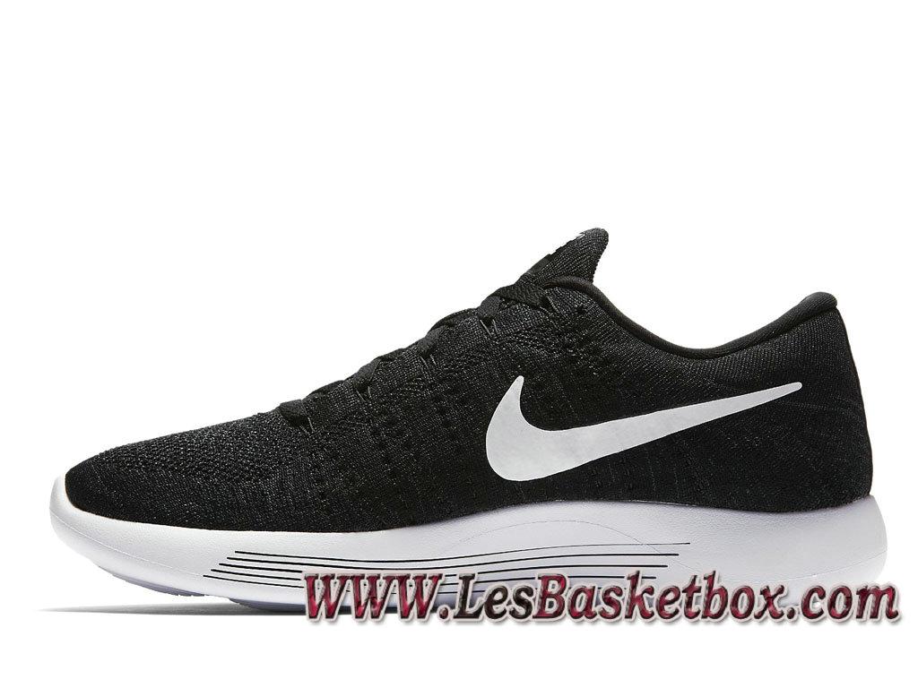 promo code 5c13e ac5ac ... Nike LunarEpic Low Flyknit Noire 843764 002 Officiel Nike pour Homme  Blanc ...