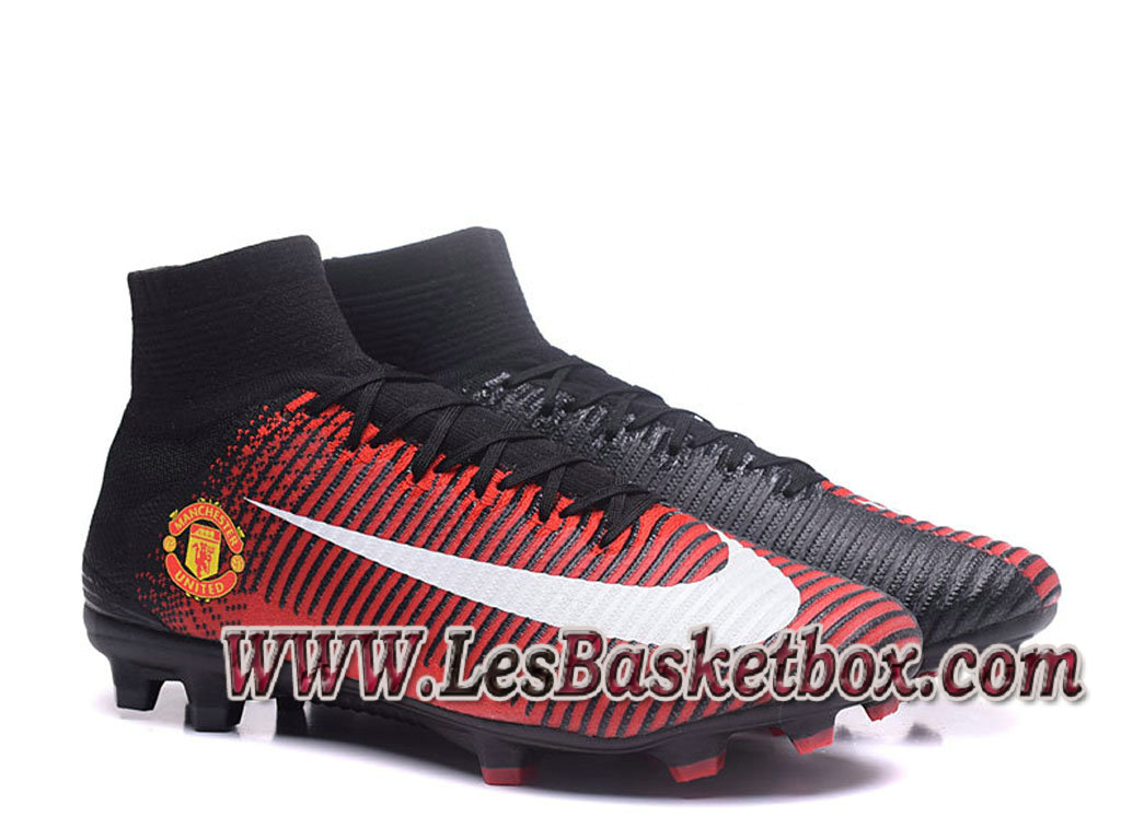 newest 8143a 8d1e0 Nike Mercurial Superfly V FG(Manchester United) Chaussure de football  Officiel Pas cher pour ...