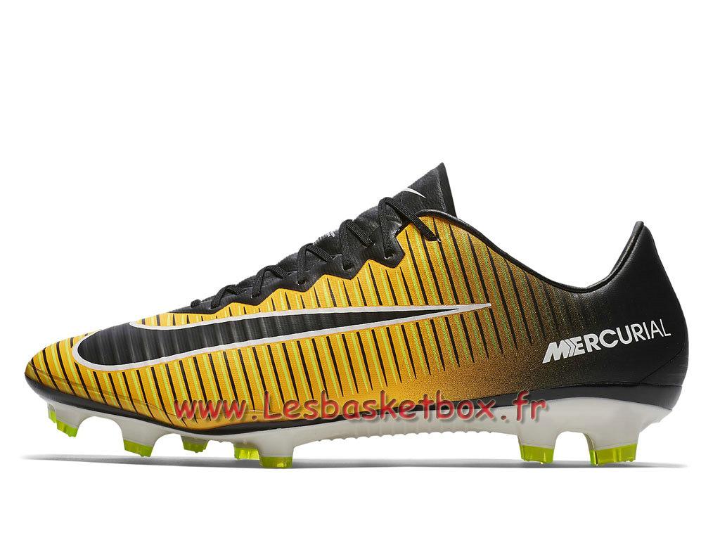 nouvelle collection style le plus récent Réduction Nike Mercurial Vapor XI FG Volt/Jaune 831958_801 Chaussure de football à  crampons pour terrain sec - 1709261194 - Officiel Nike Basket Pour Homme Et  ...