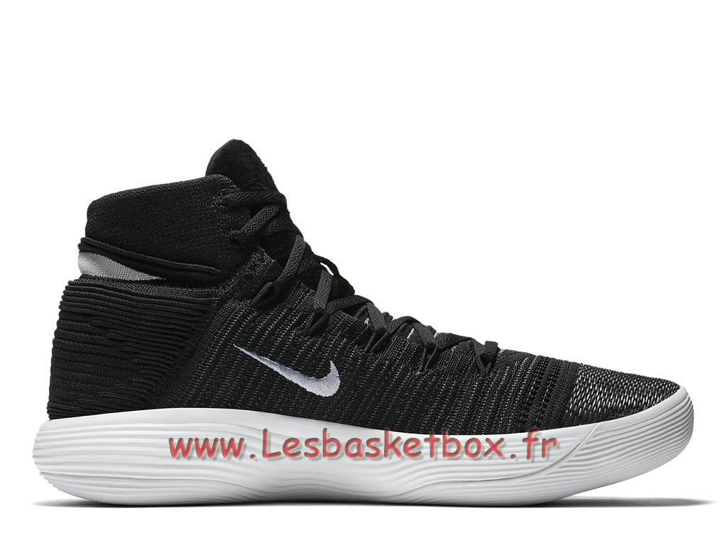 low priced 61f22 20548 ... Nike React Hyperdunk 2017 Flyknit black 917726 001 Chaussures Nike  Release 2017 Pour homme ...