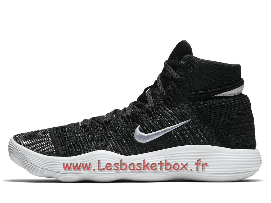 React Hyperdunk 917726 Flyknit Nike Chaussures 001 2017 Black ON8n0yPmvw