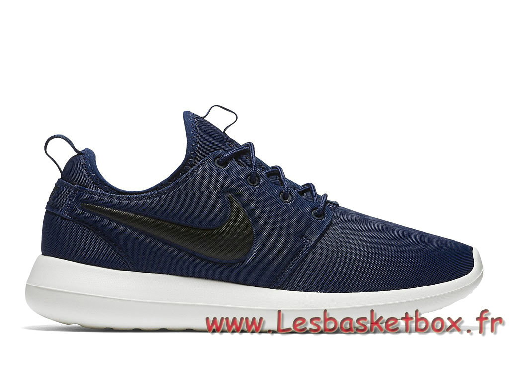 b7c9a80e17ab3 Nike Roshe Two Midnight Navy 844656 400 Shoes nike Running Prix For Men´s  Blue
