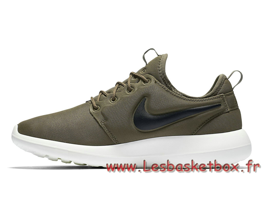 sports shoes ed11f 0a97c ... Nike Roshe Two Vert 844656 200 Chaussures NIke Pas cher Running Pour  Homme ...