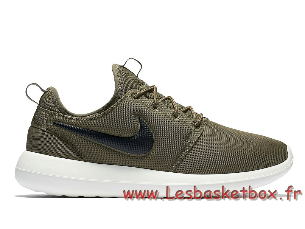 new product 96f25 f46ec Nike Roshe Two Vert 844656 200 Chaussures NIke Pas cher Running Pour Homme