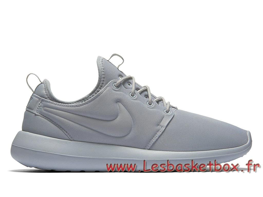Nike Roshe Two Wolf Grey 844656_002 Shoes Officiel Nike prix For Men´s Grey