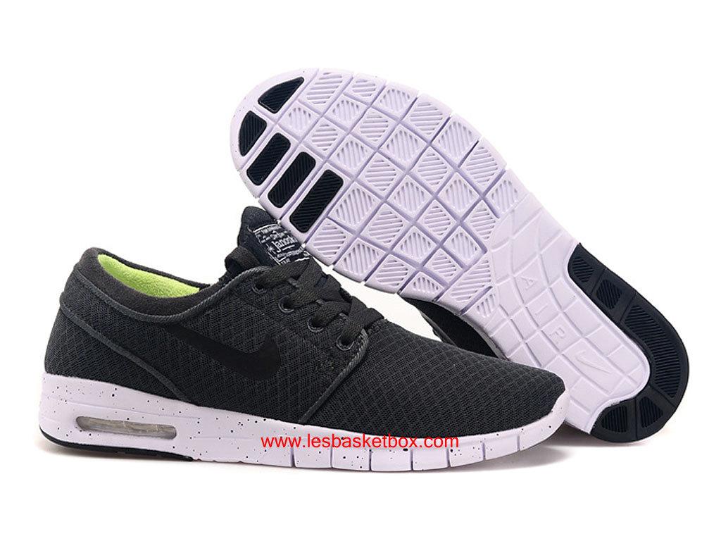 info for 37eb8 b0e45 ... Nike SB Stefan Janoski Max Noir Gris Blanche Homme Chaussure ...