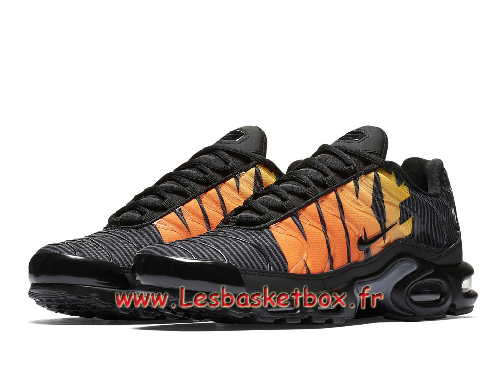 best prices hot products good service Nike Tn Air Max Plus Se Striped Black Orange AT0040_002 Chaussures Tuned 1  Pour Homme - 1810171726 - Officiel Nike Basket Pour Homme Et Femme A Vendre  ...