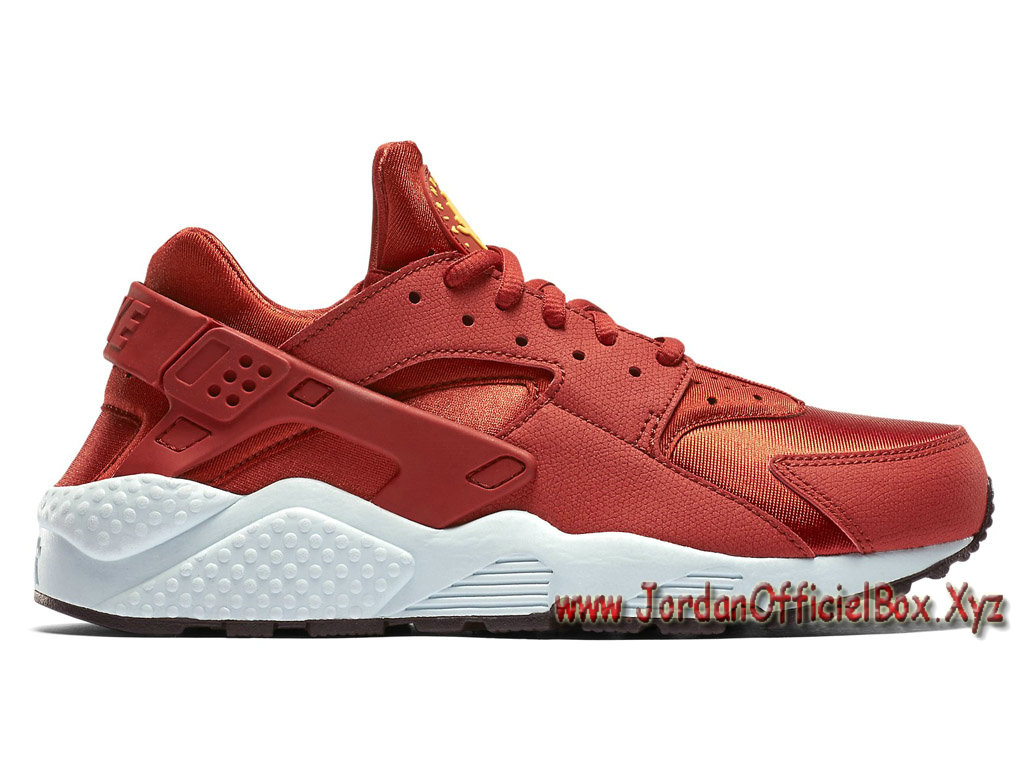 cefd8da576f Nike Wmns Air Huarache ´Cinnabar´ 634835 600 Chausport Officiel urh Pour  Femme Enfant Rouge