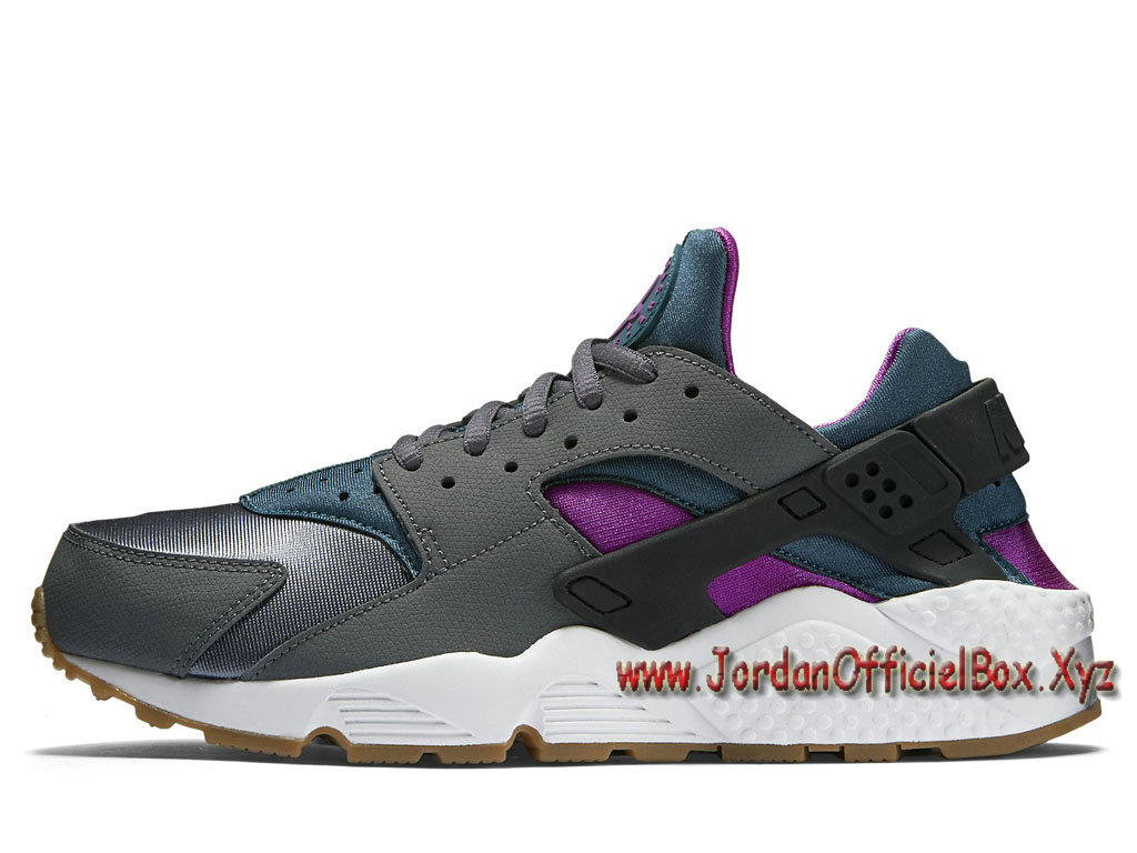 Nike Wmns Air Huarache Run 'Dark grey Teal' 634835-016 Femme/Enfant Nike Urh noires