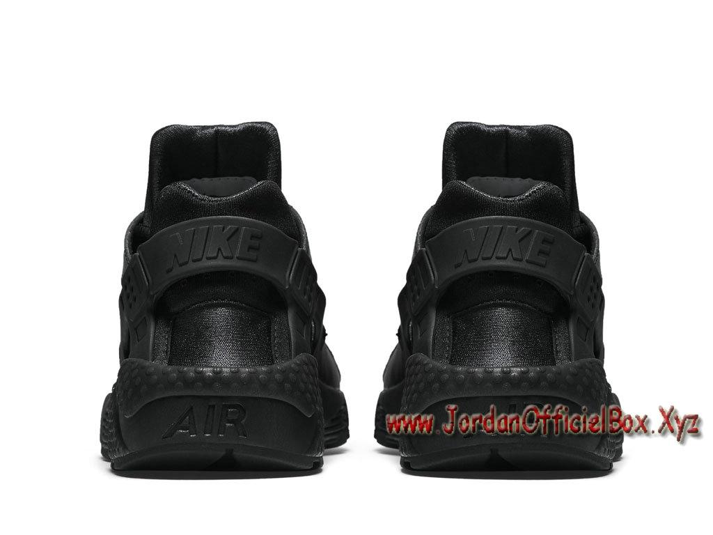 the best attitude f3d9a 64e19 ... Nike Wmns Air Huarache Run Noires 634835_012 Femme/Enfant Officiel urh  Noires