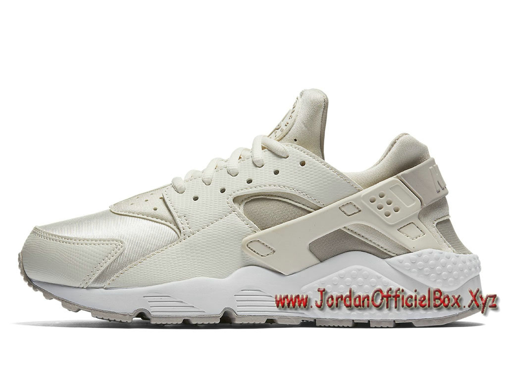 Nike Wmns Air Huarache Run Phantom/Light Iron 634835-018 Chaussures Pour Femme/enfant Blanc