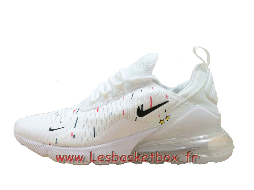 San Francisco e5609 d19db Nike Wmns Air Max 270 France 2018 World Cap 2 Etoiles Blanc ...