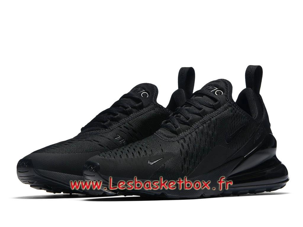 premium selection 69161 4f23b ... Nike Wmns Air Max 270 Triple Black AH6789 006 Chaussures Officiel Pas  cher Pour Femme enfant ...