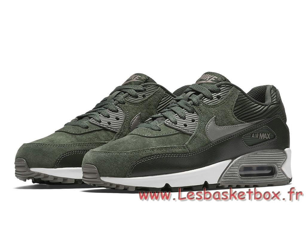 ... Nike WMNS Air Max 90 LTR Carbon Green 768887_301 Femme/Enfant Nike Prix Chaussures  Vert ...