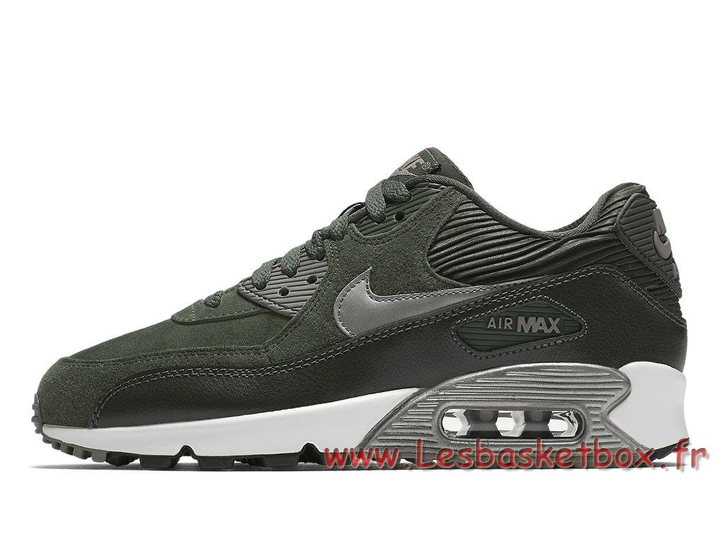 Nike WMNS Air Max 90 LTR Carbon Green 768887_301 Femme/Enfant Nike Prix Chaussures Vert ...