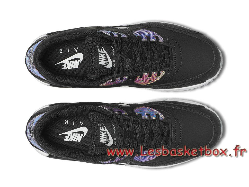 the latest 91ed4 470e2 ... Nike Wmns Air Max 90 Premium Black Multicolor 443817 008 Femme Enfant NIke  Prix Pour Chaussures ...
