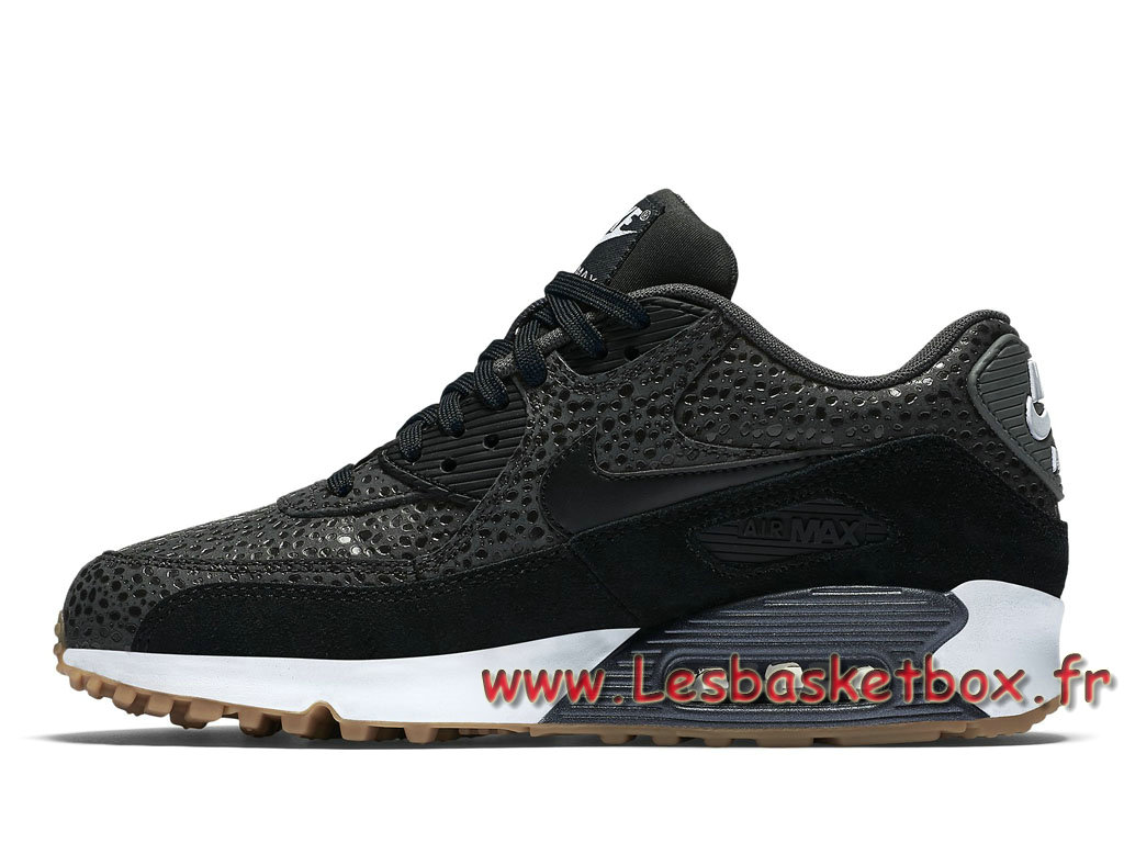 best loved 3d216 f4b2f ... Nike Wmns Air Max 90 Premium ´Black Safari´ 443817 006 Chaussport Nike  Basket Pour Femme ...