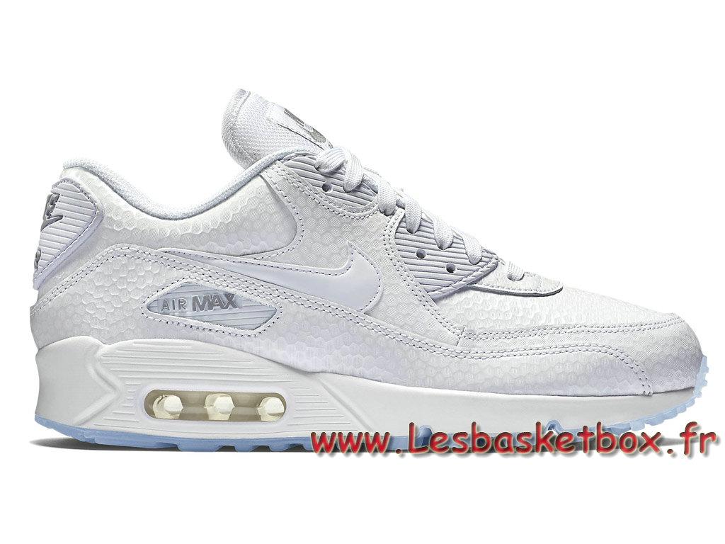 Nike Wmns Air Max 90 Premium Blances 443817_101 FemmeEnfant Nike prix Pour Blance 1706241015 Officiel Nike Basket Pour Homme Et Femme A Vendre En