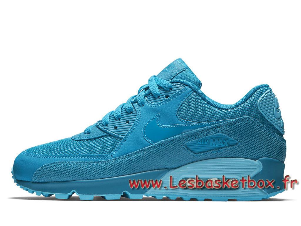 Nike WMNS Air Max 90 Premium Blue Lacquer 443817_401 FemmeEnfant Nike Prix Chaussures Bleu 1706241029 Officiel Nike Basket Pour Homme Et Femme A