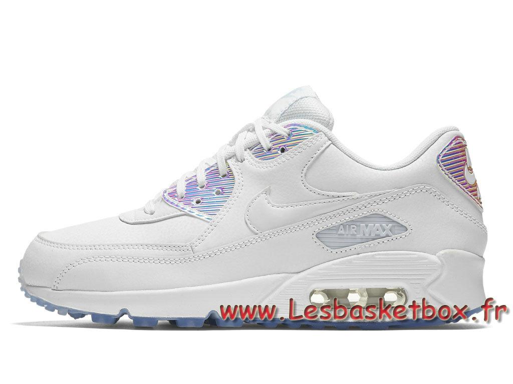 site réputé a6480 1fd57 Nike WMNS Air Max 90 Premium Blue Tint 443817_104 Chausport Nike Pas cher  Pour Femme/Enfant Bleu - 1706241023 - Officiel Nike Basket Pour Homme Et ...