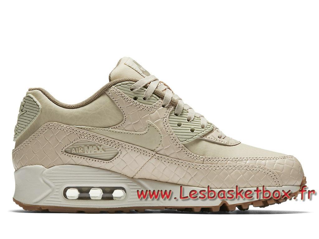 Nike WMNS Air Max 90 Premium Sail Khaki 443817 NIke 105 Chausport NIke 443817 7e3662