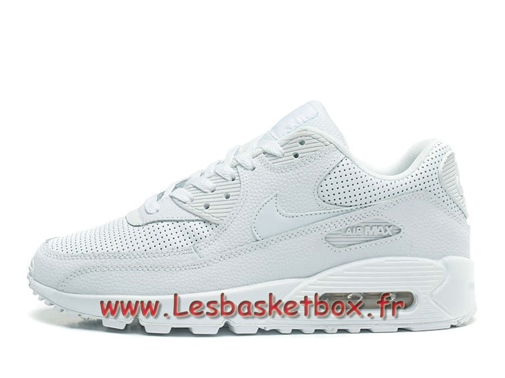 Nike Wmns Air Max 90 PRM Blanc Chausport Officiel Pas cher