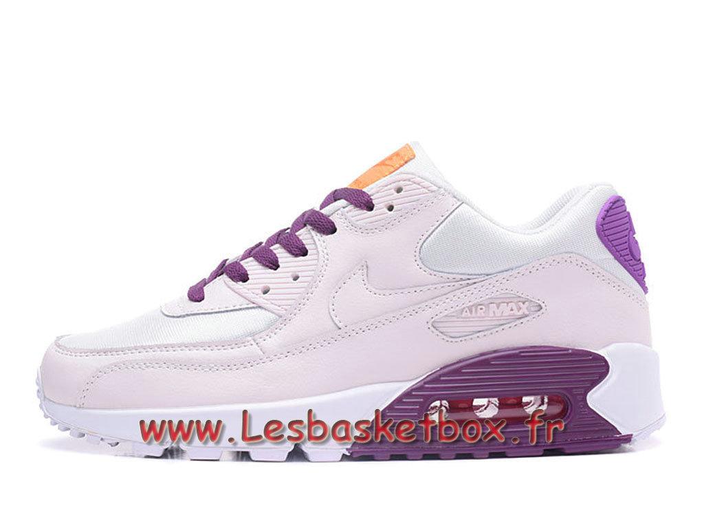 competitive price 11232 503aa Nike Wmns Air Max 90 PRM Bleu Pourpre Chausport Nike Prix Pour Femme enfant  ...