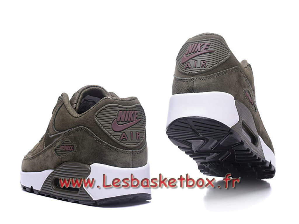 buy popular 32d55 f72be ... Nike Wmns Air Max 90 PRM Grey Chausport Officiel Pas cher Pour Femme  enfant