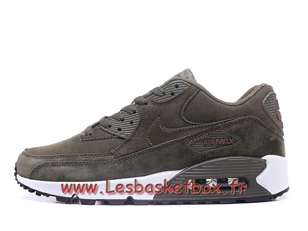 super popular b090b b957c Nike Wmns Air Max 90 PRM Grey Chausport Officiel Pas cher Pour Femme enfant  ...