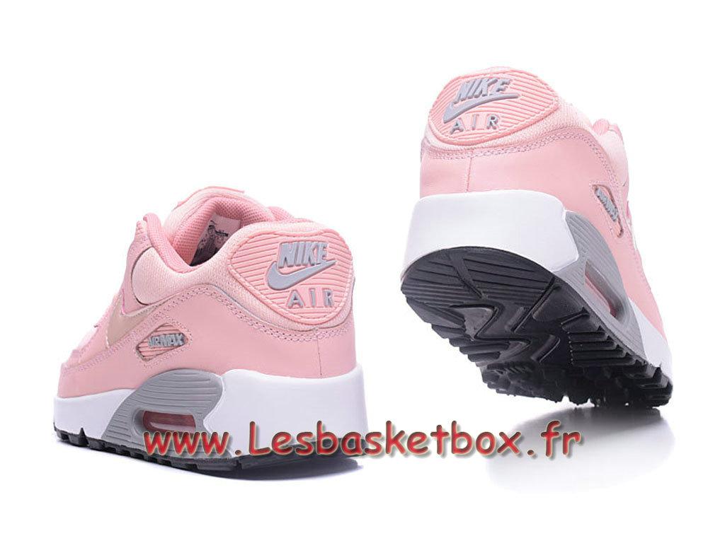 brand new 658cf 3ed06 ... Nike Wmns Air Max 90 PRM Rose Chausport Officiel Pas cher Pour Femme  enfant