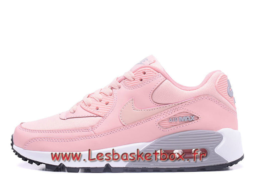 new product 206b3 968d2 Nike Wmns Air Max 90 PRM Rose Chausport Officiel Pas cher Pour Femmeenfant  ...
