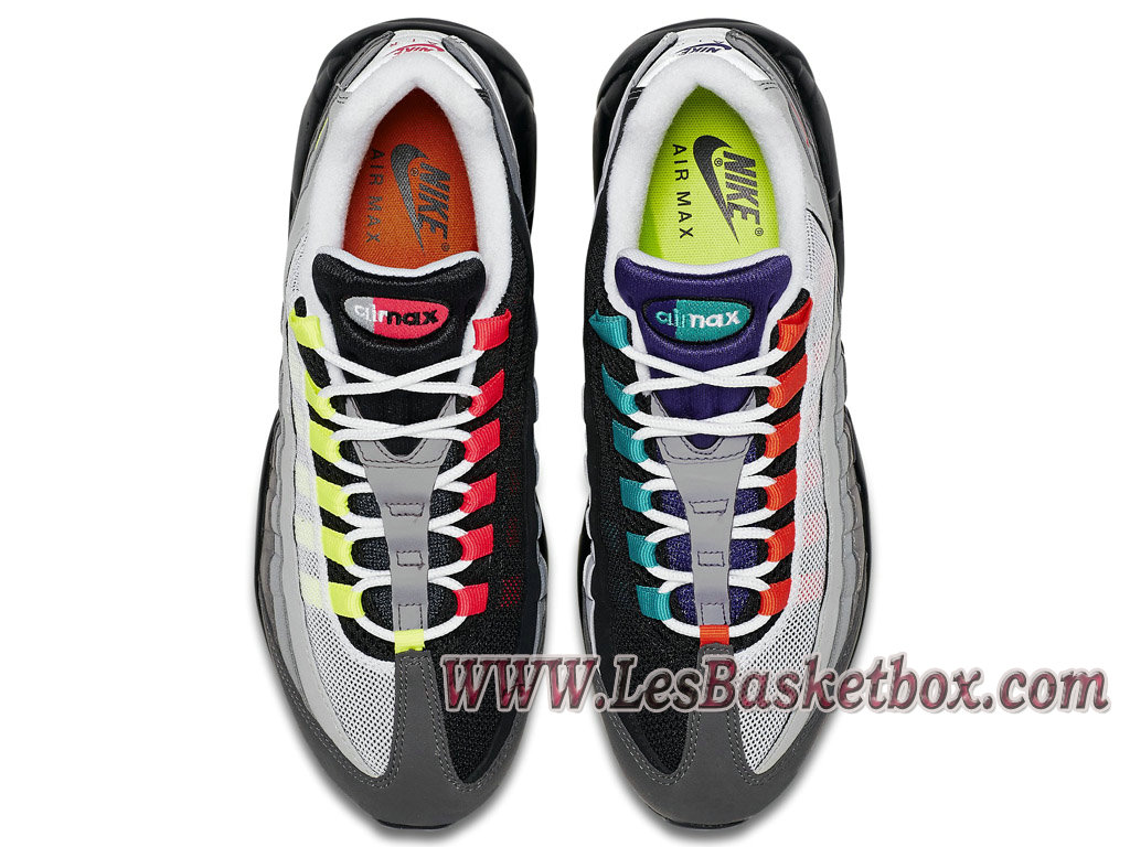 new products a150d 155a8 Nike Wmns Air Max 95 OG ´What The´ 810375-078 Femme/enfant Gris/Vert ...