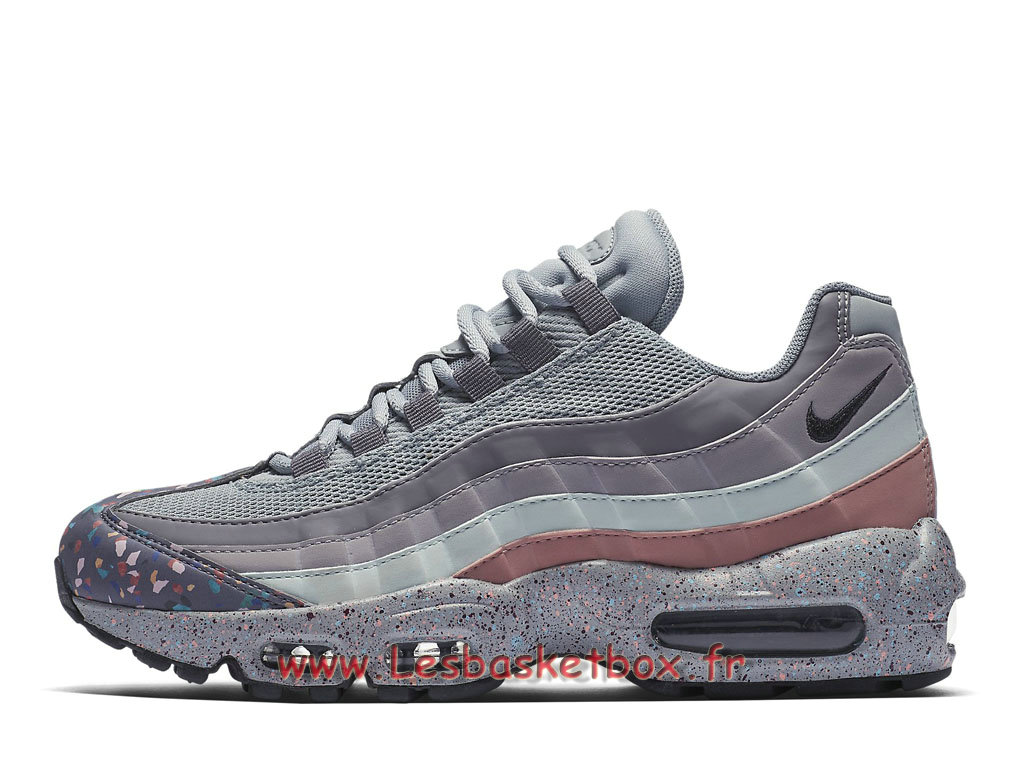 cd9b6e5a8a4 Nike Wmns Air Max 95 SE Confetti 918413 002 Chaussures Vapormax TN Pour  Femme enfant