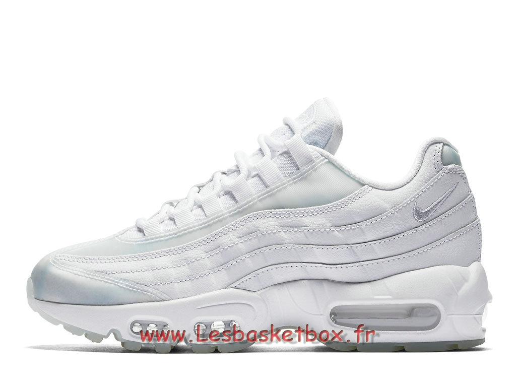068060ce098 Nike Wmns Air Max 95 SE white light blue 918413 100 Chaussures Vapormax  Prix Pour Femme