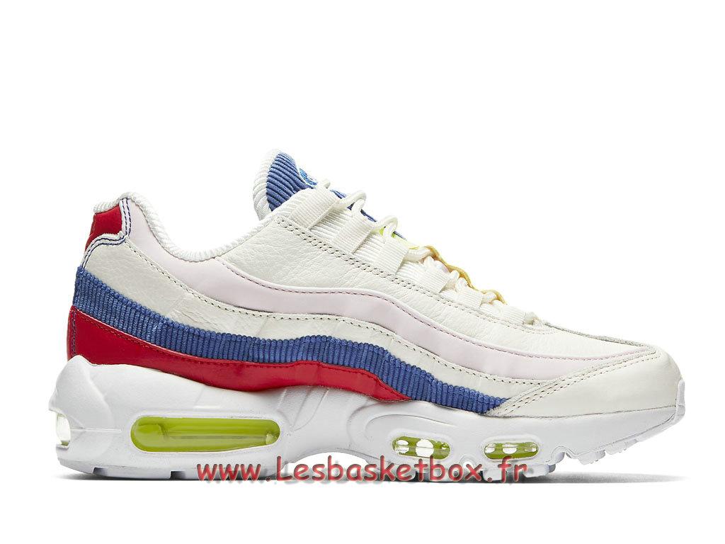 Nike Wmns Air Max 95 Special Edition Blanc AQ4138_101 Chaussures Vapormax Prix Pour Femmeenfant 1806071538 Officiel Nike Basket Pour Homme Et