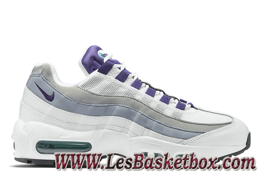 reputable site fdcc0 4712c Nike Wmns Air Max 95 Wolf Grey 307960101 WOmen´s Nike Pas cher Shoes White