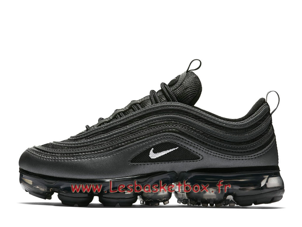 0105496358a Nike WMNS Air VaporMax 97 Black Reflect AJ7292 001 Chaussure officiel 2018 Pour  Femme enfant nories
