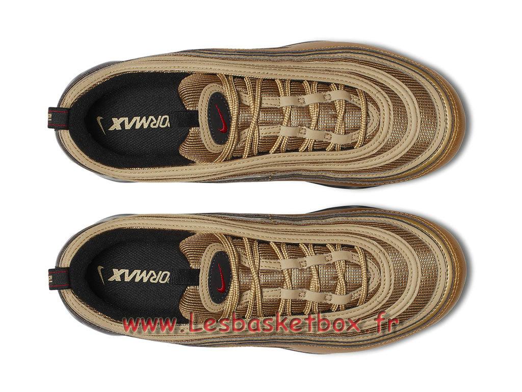 size 40 f344a 25cfe ... Nike WMNS Air VaporMax 97 Metallic Gold AJ7291 700F Chaussure officiel  2018 Pour Femme enfant Or ...