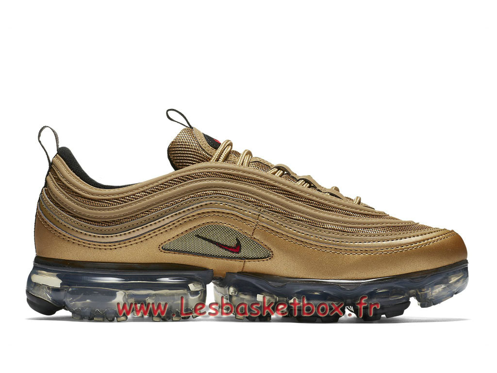 Nike WMNS Air VaporMax 97 Metallic Or AJ7291 700F Chaussure