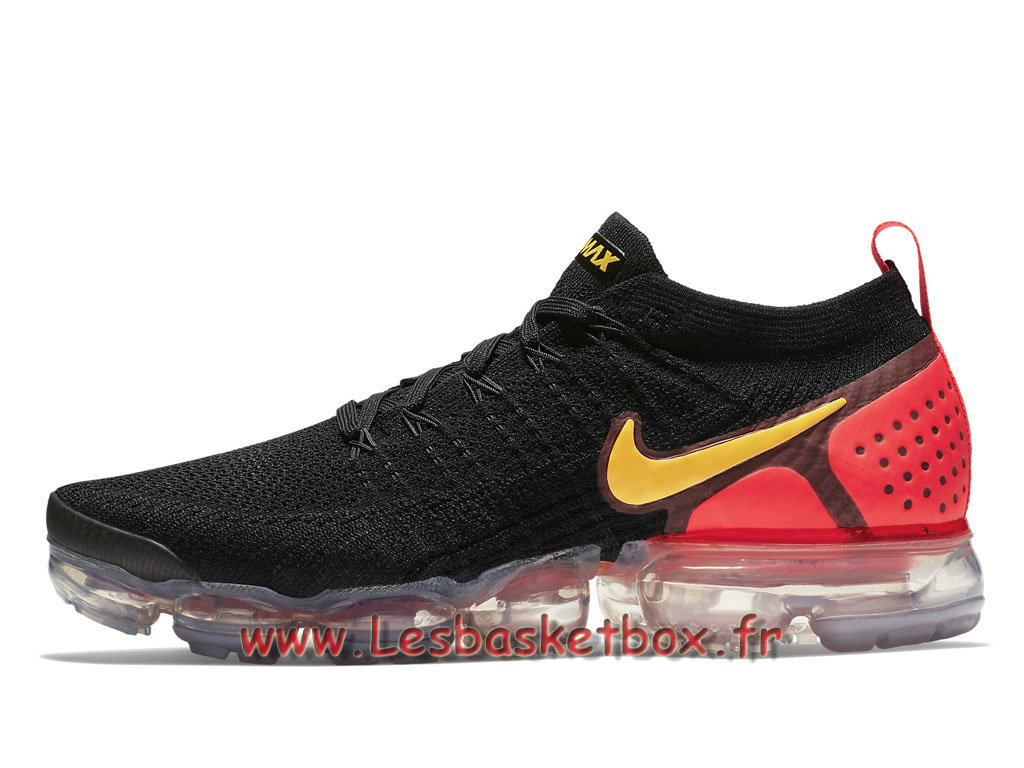 942842 Nike Black 005f 2 Red Yellow Vapormax Flyknit Air 0 Wmns LjqA34R5