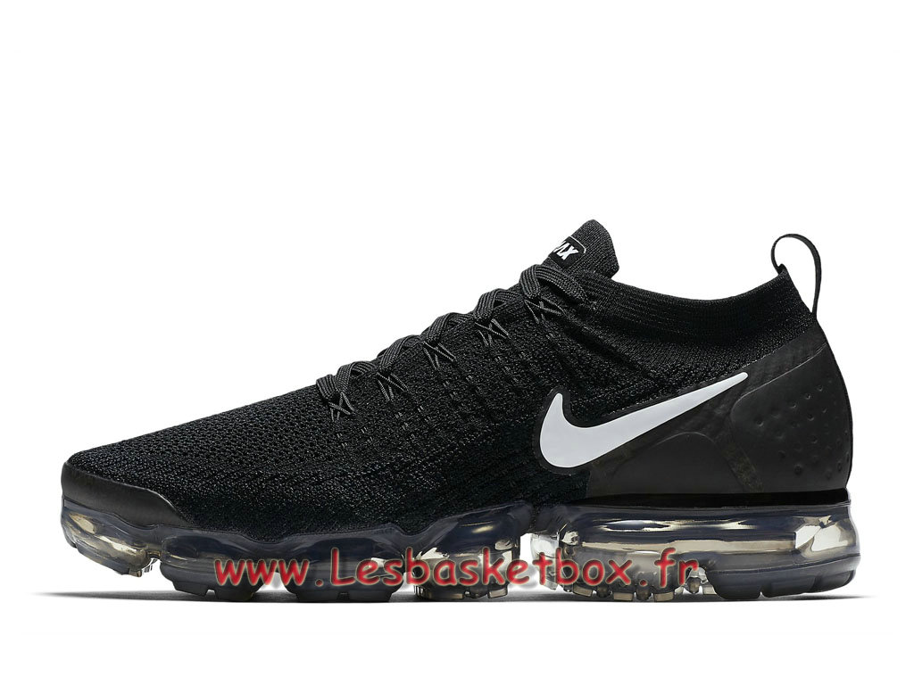 huge discount dac8c f6d6c Nike Wmns Air VaporMax Flyknit 2.0 Black White 942842 001F Chaussures Nike  Running Pour Femme Enfant ...