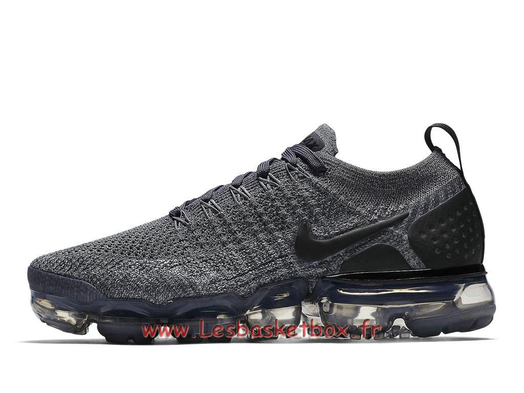 watch fcf9b d309d Nike WMNS Air VaporMax Flyknit 2.0 ´Dark Grey´ 942843 002 Chaussures Nike  Pas Cher Pour