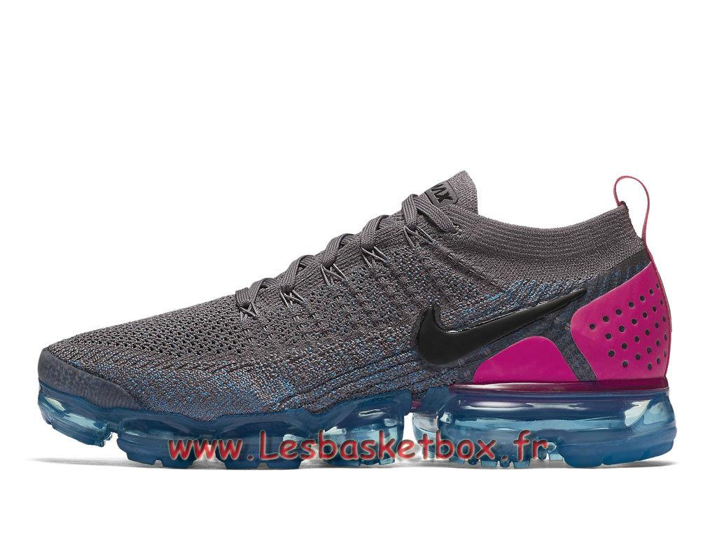 Nike Wmns Air VaporMax Flyknit Gunsmoke Bleu Orbit 942842 004F