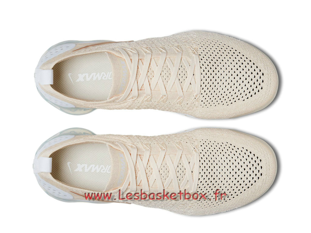 e3c28250fd5f ... Nike Wmns Air Vapormax Flyknit 2.0 ´Light Cream´ 942843-201 Chaussures  NIke 2018 ...