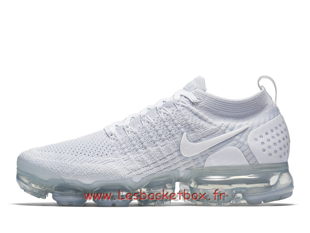 Nike White Wmns Air VaporMax Flyknit White Nike 942843 Chaussures Nike a827d1
