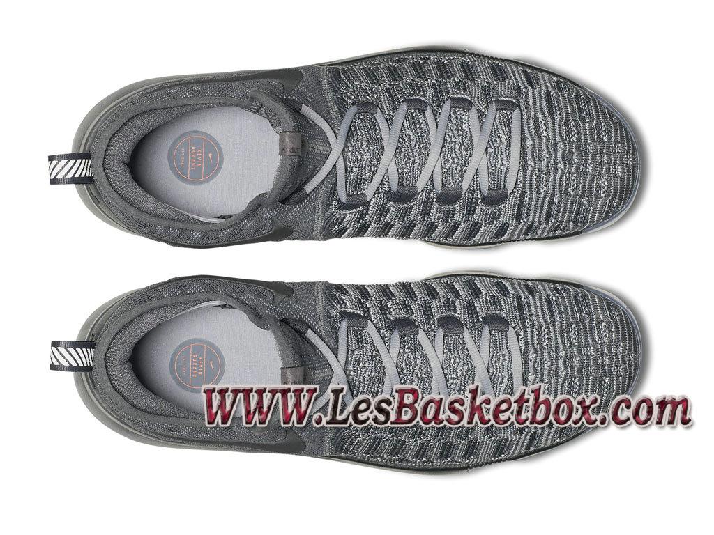 98fb13251a8 ... Nike Zoom KD 9 Battle Grey Pack 843392 002 Chaussure Officiel Nike de  basketball pour Homme ...