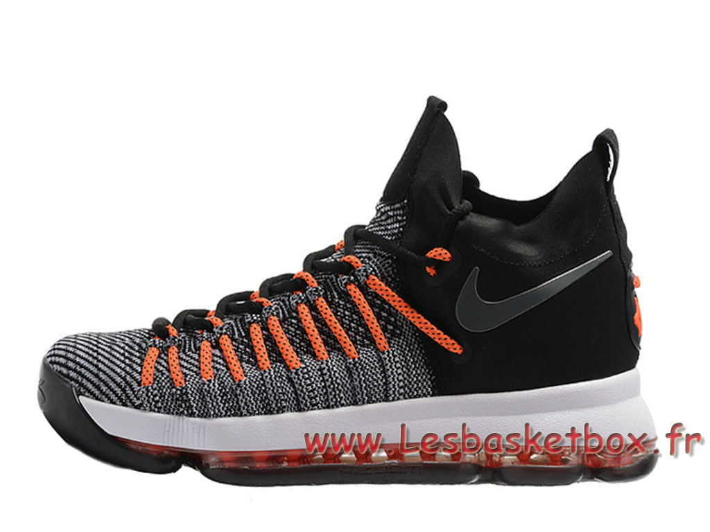 nike zoom kd 9 elite gris noir orange 909139 id14 chaussures officiel nike pour homme. Black Bedroom Furniture Sets. Home Design Ideas